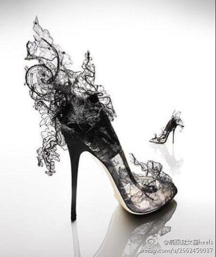 Ooooh; froo-froo shoes!
