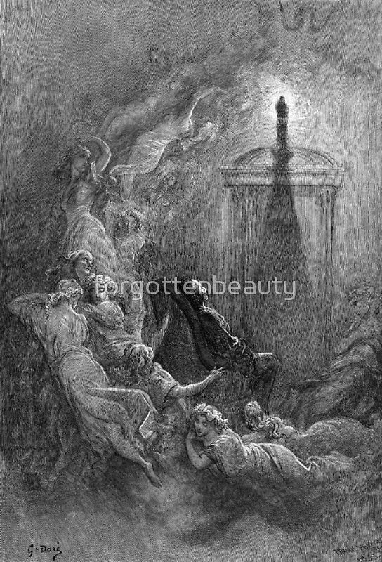 The Raven Gustave Dore Art Print Gustave Dore Edgar Allan