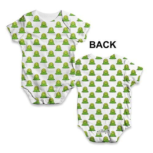 Funny Infant Baby Bodysuit Pizza Party Baby Unisex ALL-OVER PRINT Babygrow