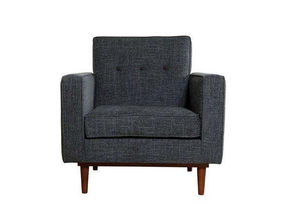 Velvet armchair with armrests LOD Rewind Collection by Kann Design | design José Pascal