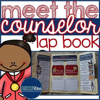 Lap Books Elementary School Counseling And School Counseling On