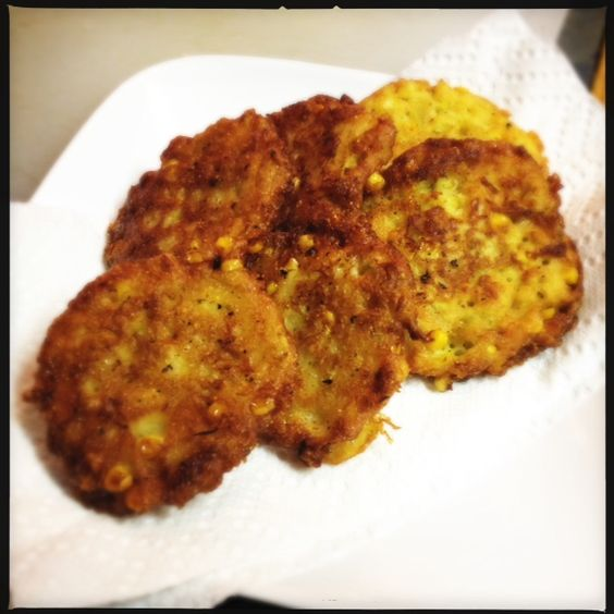 Corn fritters..!!