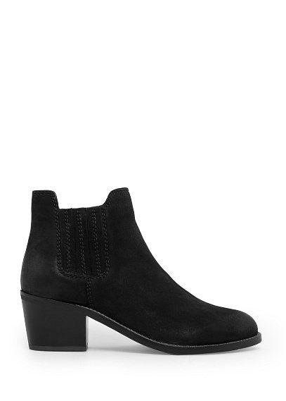 Ankle boots aus leder - Schuhe für Damen | OUTLET