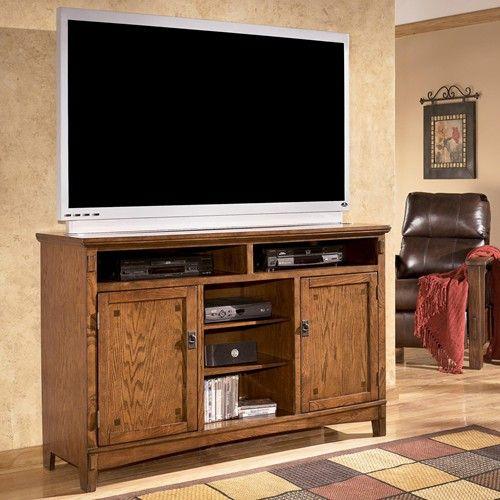 Ashley Furniture Cross Island Oversized TV Stand