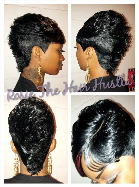 Prime Pin By Lady T On Kuttin Up Pinterest Hairstyles Haircuts And Short Hairstyles For Black Women Fulllsitofus