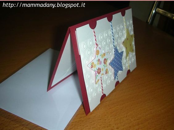 card natale con stelle