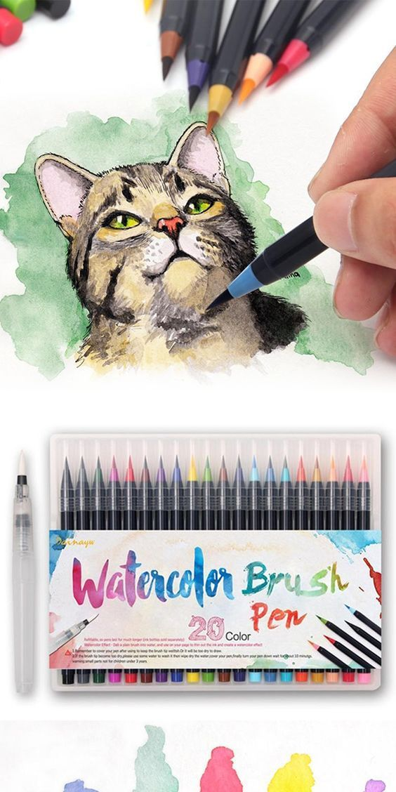 Watercolor Brush Pens The Perfect Gift For Artists Watercolor