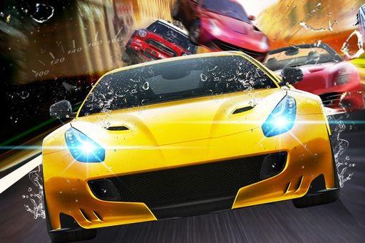 لعبة سباق السيارات بين حركة المرور Traffic Car Revolt Sports Car Car Bmw