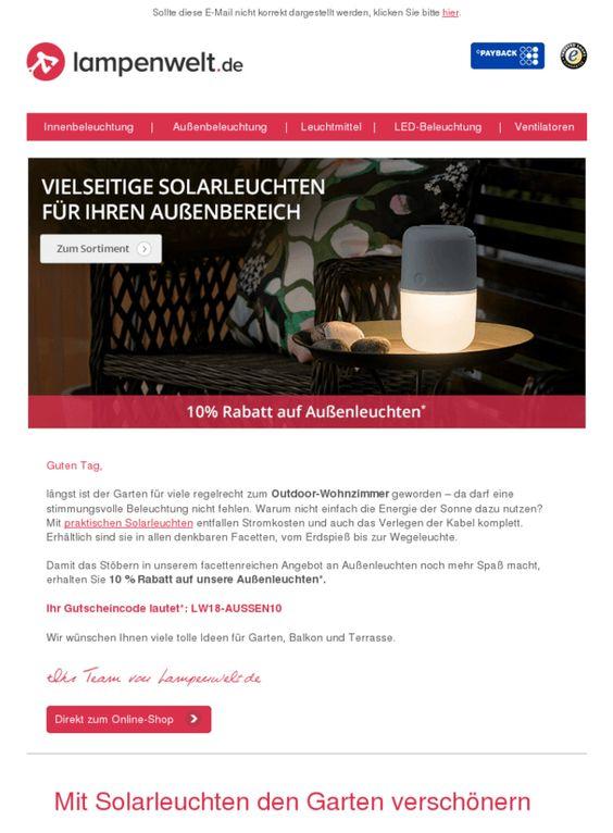 Solarleuchten Umweltfreundlich Schon 10 Rabatt Sichern Wohnengarten Https Deal Held De Solarleuchten U Solarleuchten Umweltfreundlich Leuchten
