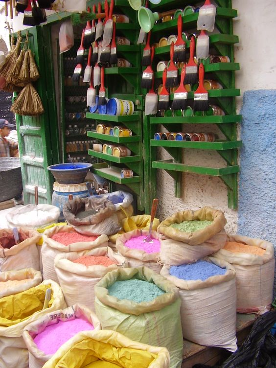 Photo from my visit to La Medina (The Market) in Morocco.