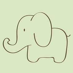 Simple Elephant Drawing Google Search Art Pinterest