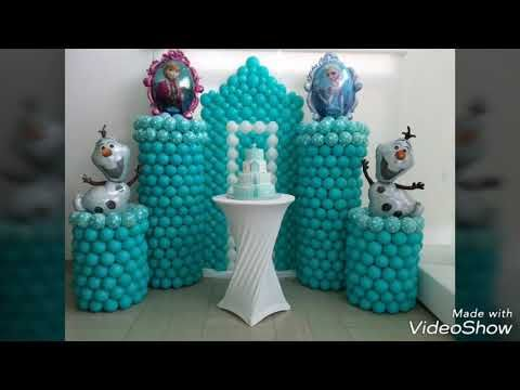 Ideas For Frozen Elsa Anna Parties Birthdays افكار منوعة ومتميزة لتنسيق حفلات فروزن السا انا Youtube Frozen Elsa And Anna Elsa Frozen Decorative Jars