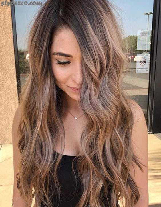 Attractive Ways To Wear Caramel Hair Color Highlight In 2018 Hair Color Caramel Carmel Hair Hair Color Highlights