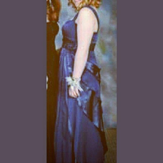 Adrianna Papell Prom Dress~Like New Blue Adrianna Papell Prom Dress with beading. Like New. Warn once. Adrianna Papell Dresses Prom