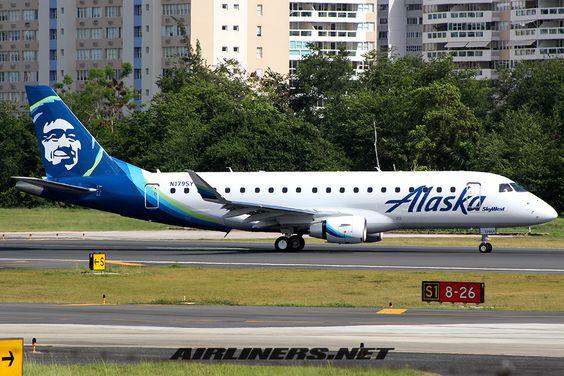 Embraer 175LR (ERJ-170-200LR) - Alaska Airlines (SkyWest Airlines)..