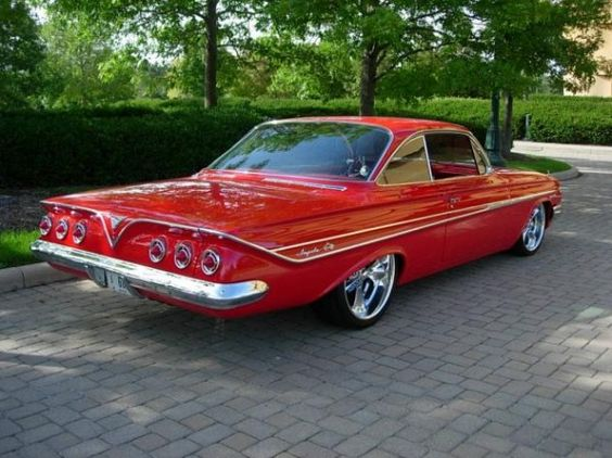 Pro Street Impala 1961 Pro Touring Chevy Impala Ss