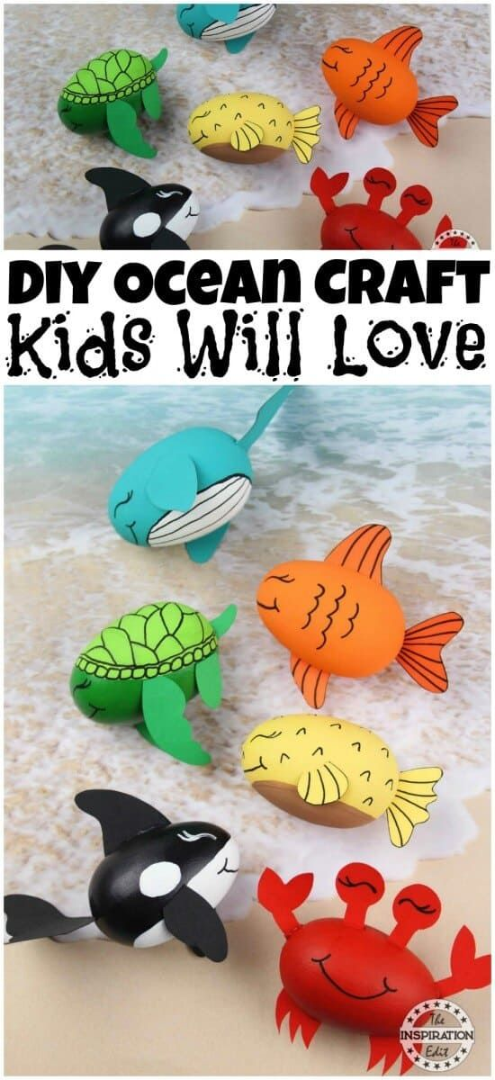 Pin On Ocean Crafts