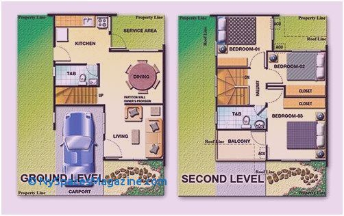 Two Storey House Floor Plan Designs Philippines Bungalow House Floor Plans House Plans House Plans With Photos