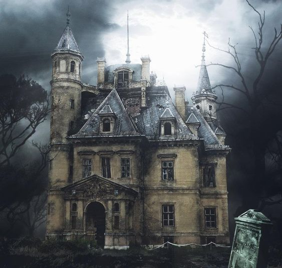Abandoned, House and Haunted castles on Pinterest