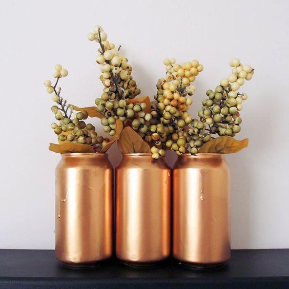 Muslin and Merlot: Soda Can Vase or Cup!: