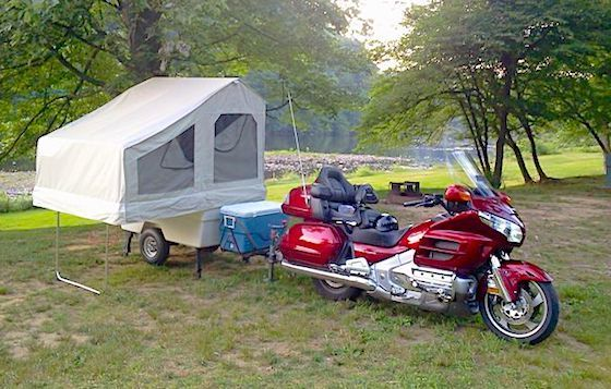 6 Best Pop Up Campers for Motorcycles