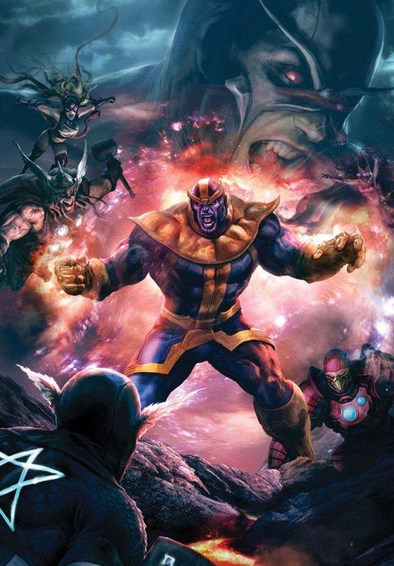 Thanos •Aleksi Briclot