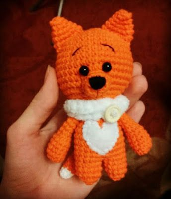 Amigurumi Little Fox-Free Pattern (Amigurumi Free Patterns ...