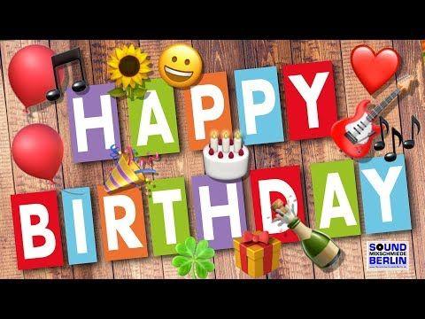 Happy Birthday Song New Neues Geburtstagslied Fur Freunde
