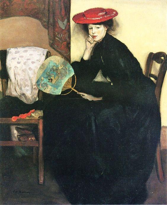 Alfred Henry MAURER - La Palette et le Rêve..... Eugenia Maurer. American: