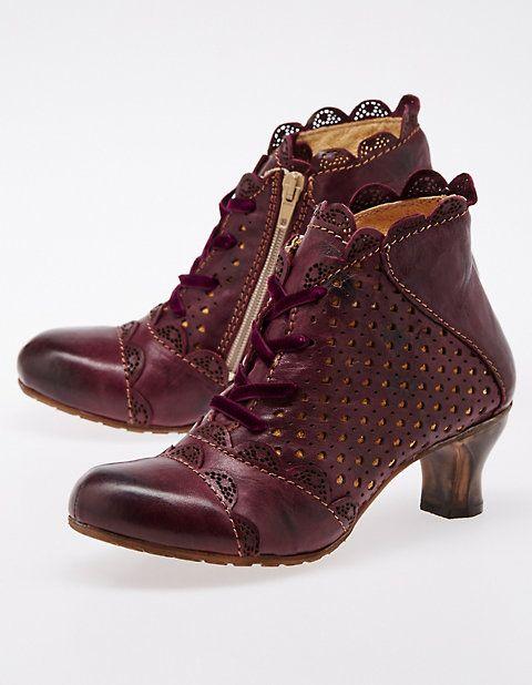 Stiefeletten BordeauxVintage Shoes Rovers Feodora Style stQhCrdxB