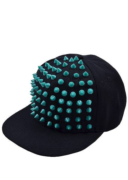 Mint Green Spiked Snapback  http://messyegyrlz.mysupadupa.com/collections/hats-hats-and-more-hats/products/mint-green-spiked-snapback