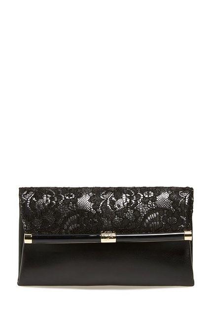 Diane von Furstenberg '440' Floral Lace Flap Envelope Clutch - on #sale 25% off @ #Nordstrom
