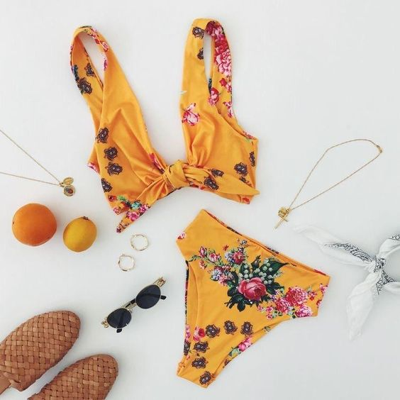 29 Most Trendy Bikini and Swimsuit Ideas To Try This Summer