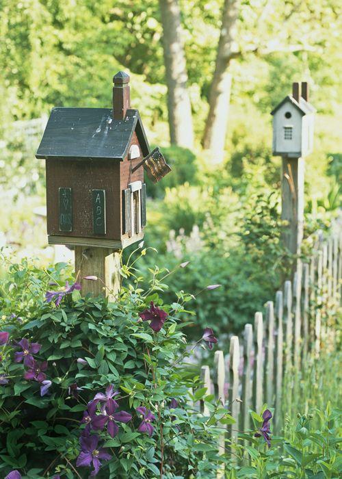 20 inspirations pour une jolie cabane à oiseaux: