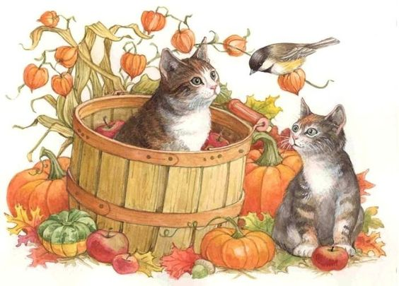 cats ~ katilbalina | decoupage pictures