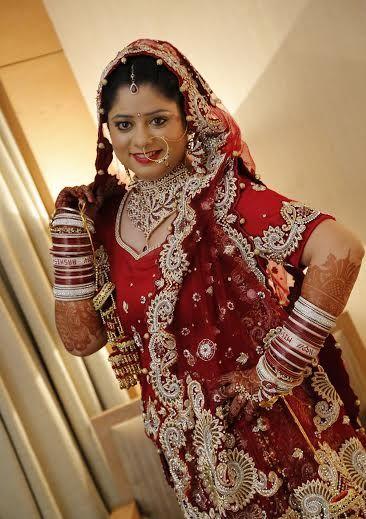 Sejal S Bridal Makeup See More Real Brides And Their Wedding On Our Blog At Http Www Weddingsonline In Pinterest Desi