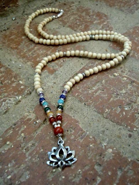 Balance / Yoga Necklace / Chakra Necklace / Chakra by Syrena56, $39.00