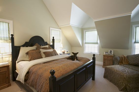 decorating ideas for vaultedceilings | decorating ideas for Delightful Bedroom Traditional design ideas ...