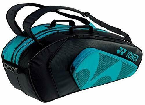 Advertisement Ebay New Yonex Badminton Bag Tournament Active Series Blue Racquet 6 Pieces In 2020 Badminton Bag Yonex Badminton Bag Racquet Bag