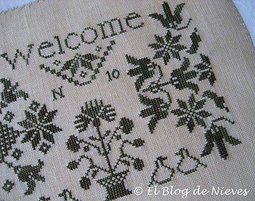 El Blog de Nieves. Labores y Punto de cruz punto de cruz cross stitch point de croix