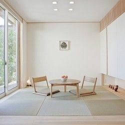 リビングと接した、畳の間。 | 和と北欧の融合 平屋の家