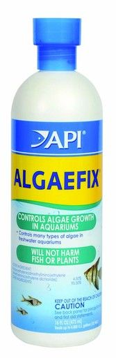 API AlgaeFix 16oz Bottle Freshwater Aquariums Clean Clear Revolutionary Product