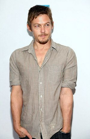 norman reedus - daryl walking dead-LOVE him - don't know what it is about him, but, yes, he is hot!