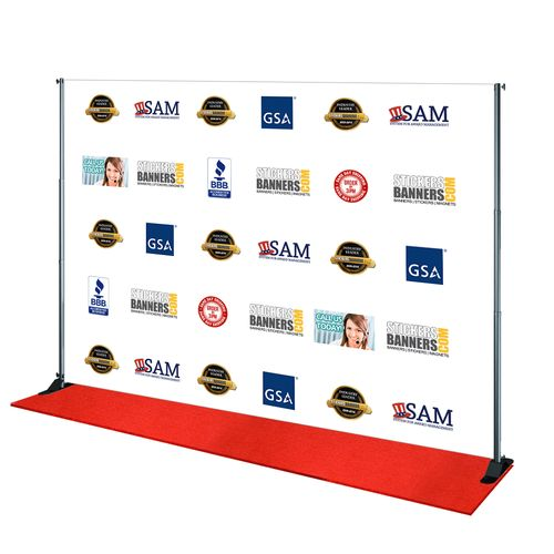 10 X 8 Step And Repeat 10 X 8 Step And Repeat Banner Same Day Shipping Custom Vinyl Banners Vinyl Banners Banner Printing