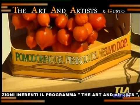 Il Pomodorino del Piennolo del Vesuvio D.O.P. protagonista di The Art and Artist & Gusto