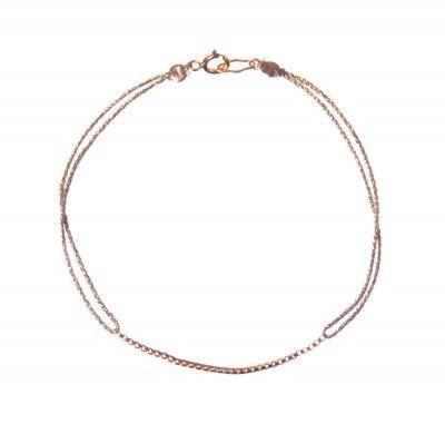 Poupette Boxchain Silk bracelet