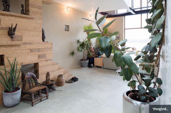 我們看到了。我們是生活@家。: 位在荷蘭 Amsterdam,兩位視覺藝術家Joris Brouwers & Nicky Zwaan的家