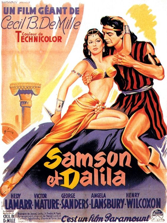 1951 SAMSON ET DALILA... I remember seeing this as a kid.