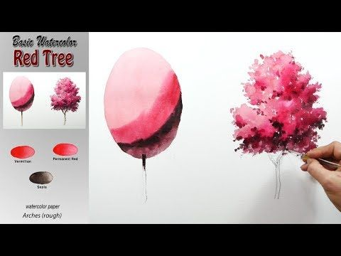 Understanding Water Concentration Basic Watercolor Maple Tree