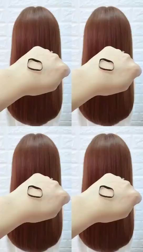 Only Need A Rubber Band To Get A Variety Of Beautiful Hairstyles Band Beautiful Hairstyles Rubber Variety Hair Videos Long Hair Styles Hair Styles